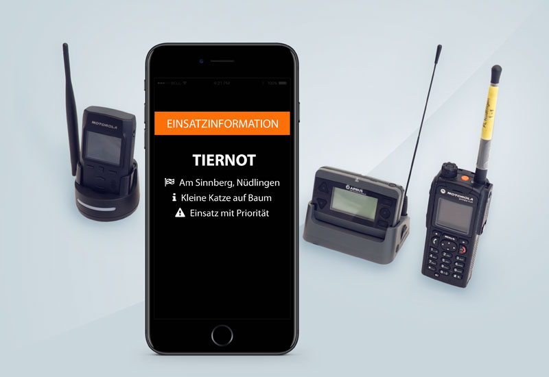 Frey: Handyalarm - Alarmierung der Einsatzkräfte