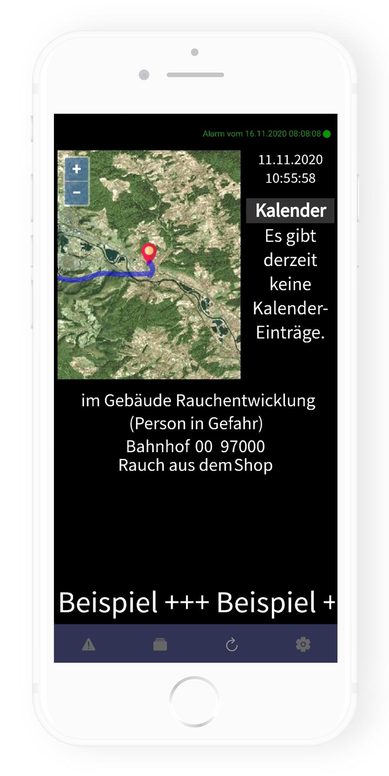 Frey Group - App: Alarmmonitor
