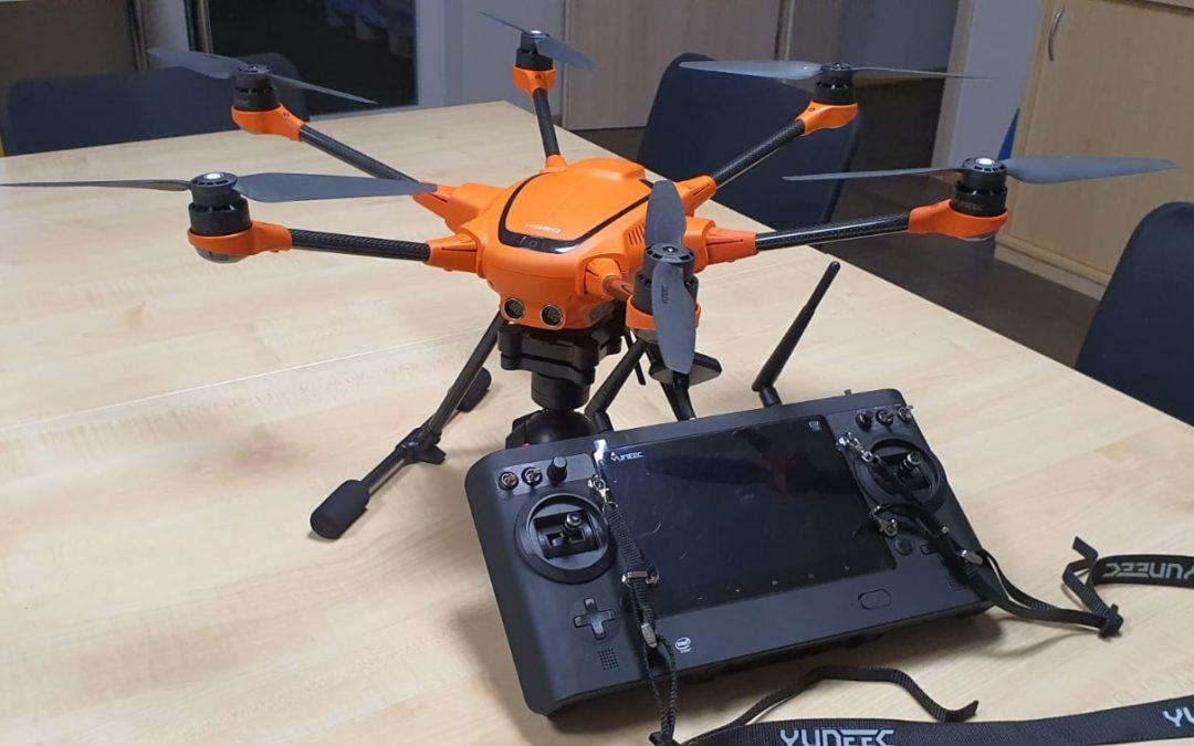 Frey Group - Blog: Drohne mit Fernbedienung