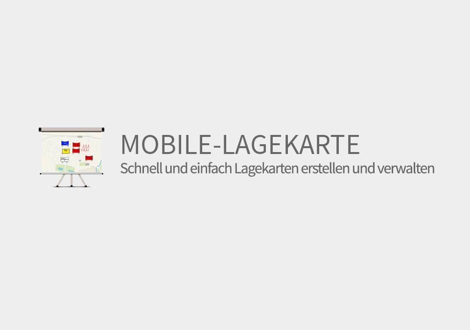 Mobile-Lagekarte Schnittstelle
